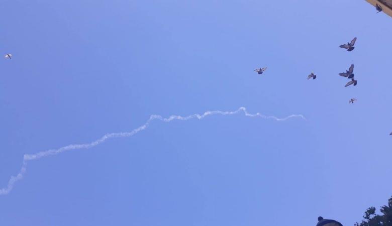 جيش الاحتلال يعلن اسقاط طائرة فوق الجولان