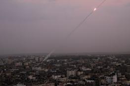 إطلاق صاروخين من قطاع غزة
