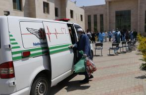 مغادرة 3 مواطنين الحجر الصحي في أريحا بعد تماثلهم للشفاء من فيروس كورونا