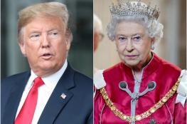 ترامب يدمر حديقة ملكة بريطانيا