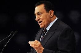 شاهد ..مبارك يظهر من جديد في ذكرى انتصار اكتوبر
