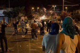 إصابات خلال اقتحام قبر يوسف بنابلس واعتقالات بالضفة