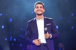 """""""اسرائيل """" تفرض قيود على النجم الفلسطيني محمد عساف"""