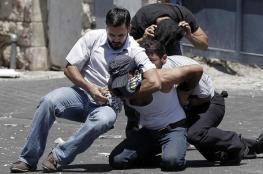 """مستعربون يختطفون """" 5 """" شبان قرب مستشفى الخليل الحكومي"""