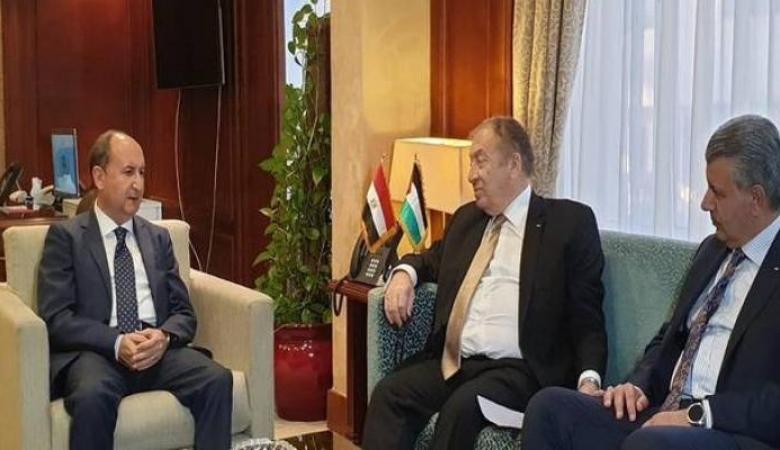 مباحثات فلسطينية مصرية لزيادة التبادل التجاري