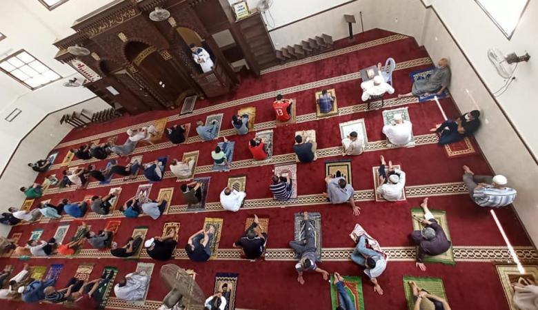 غزة تعلن اقامة صلاة العيد في كافة المساجد والساحات