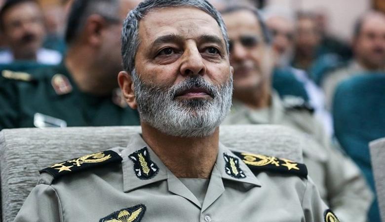 """قائد الجيش الايراني يتوعد """"اسرائيل """" بتقصير عمرها"""