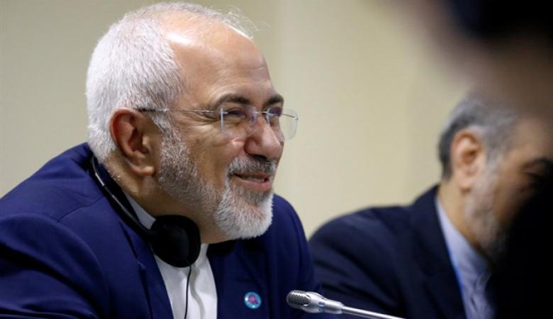 """ظريف يدعو الادارة الامريكية الى مراجعة سياستها """"الفاشلة """"  بشأن إيران"""