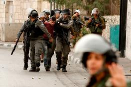 جيش الاحتلال يعتقل عدداً من الفلسطينيين في الضفة
