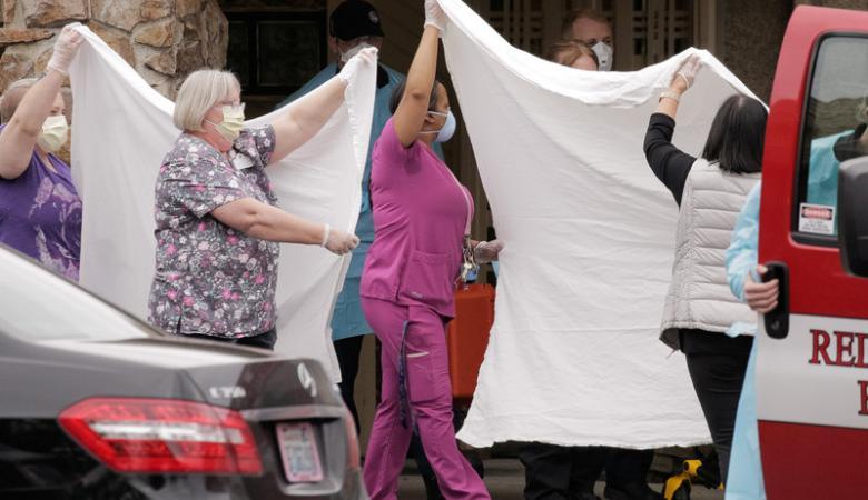 توقعات بوفاة 80 الف امريكي بسبب فيروس كورونا
