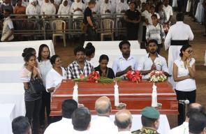 سريلانكا تشييع ضحايا الهجوم الارهابي