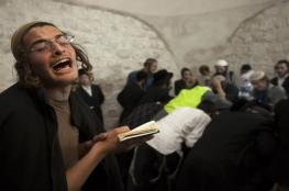 مستوطنون يقتحمون مقامات دينية بعورتا جنوب نابلس