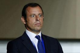 بعد عاصفة تورط ميسي.. السجن لرئيس برشلونة السابق بتهمة غسيل أموال