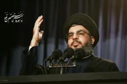 نصر الله : المقاومة هي الخيار الوحيد امام الفلسطينيين