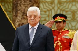 العراق تؤكد للرئيس عباس وقوفها الى جانب فلسطين