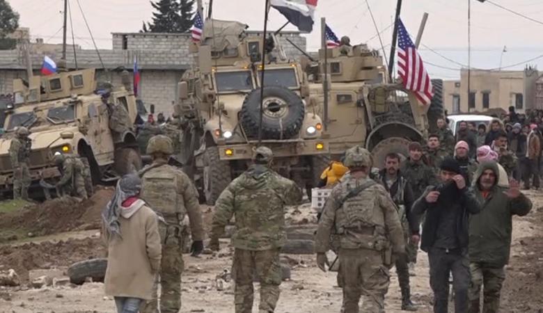 الجيش السوري يعلن التصدي لرتل عسكري امريكي  شرق سوريا