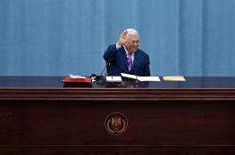 """الرئيس يهدد بالغاء كافة الاتفاقيات مع """"اسرائيل """""""