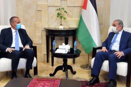 اشتيه يدعو لتحالف دولي لايجاد حل عادل للقضية الفلسطينية