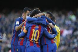 برشلونة يسحق ولاس بالماس بخماسية نظيفة