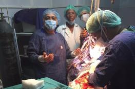 الوفد الطبي الفلسطيني  يجري 80 عملية جراحية في مشافي موريتانيا
