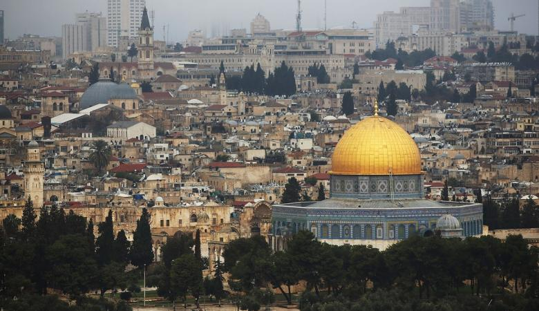منظمات استيطانية تزيل قبة الصخرة من تصميم إلكتروني لمدينة القدس