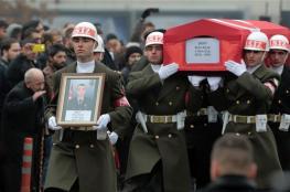 مقتل 8 جنود اتراك في اشتباكات مع الاكراد بعفرين السورية