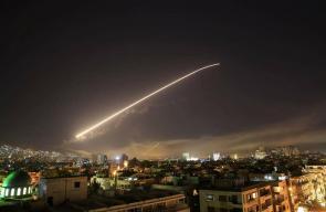 قصف امريكي بريطاني فرنسي على سوريا فجر اليوم