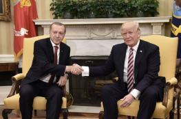 جلسة مباحثات موسعة بين اردوغان وترامب في واشنطن