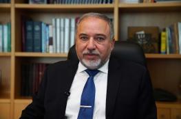 ليبرمان : لا جزيرة اصطناعية قبالة غزة دون حل قضية الجنود