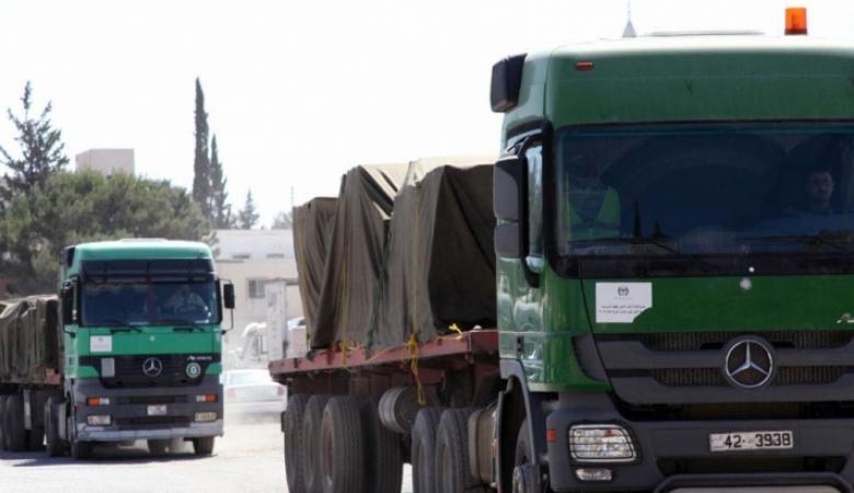 وصول أول شحنة خضار أردنية إلى فلسطين