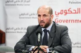 الهباش : الرئيس أبلغ جميع الاطراف بالاجراءات التي سيتخذها ضد حماس