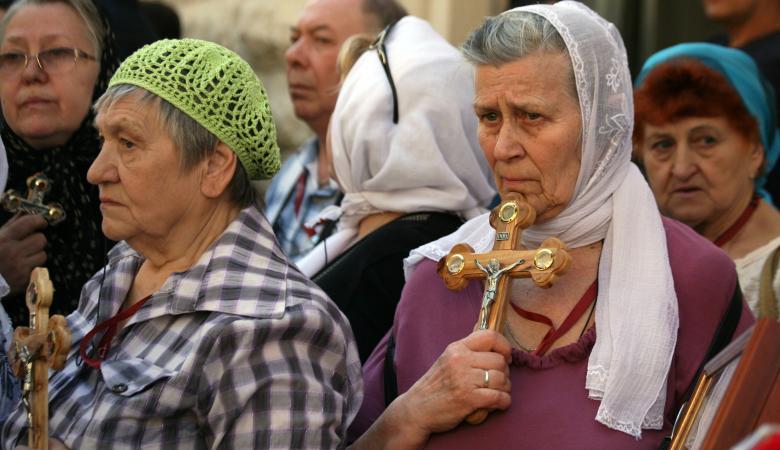اعداد المسيحيين في تناقص كبير والغالبية العظمى هاجرت من فلسطين