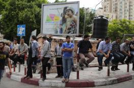 نسبة البطالة في  قطاع غزة ترتفع الى 60%