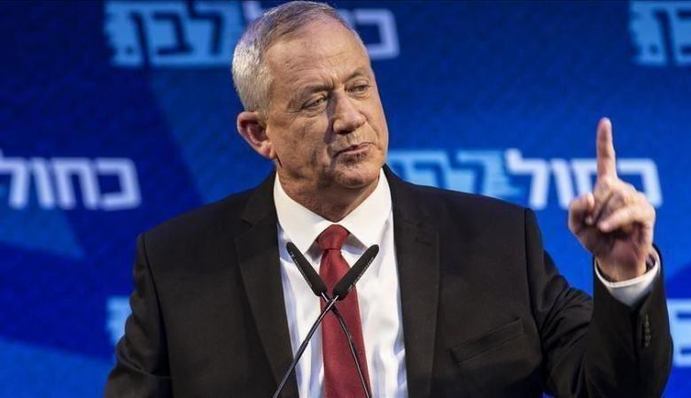 غانتس يتوقع انهيار حكومة الاحتلال ويستبعد اعلان خطة الضم غدا