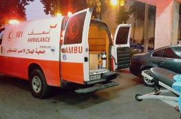 إصابة 4 مواطنين في حادث سير في أبو قش شمال رام الله