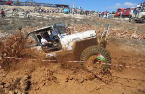 بطولة فلسطين الاولى لسيارات الدفع الرباعي التي أقيمت في رام الله