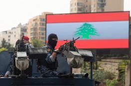 شاهد ..الجيش  اللبناني يفتح النار على المتظاهرين