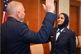 """""""ثاني صالحة"""" أول واعظة اسلامية في صفوف الجيش الامريكي"""