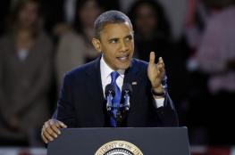 اوباما : تصرفات نتنياهو لن تسمح باقامة دولة فلسطينية