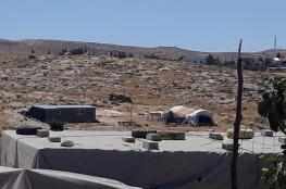 مستوطنون يهاجمون قرية التوانة جنوب الخليل