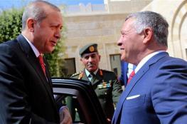 الملك الاردني يبحث مع أردوغان الوضع في القدس