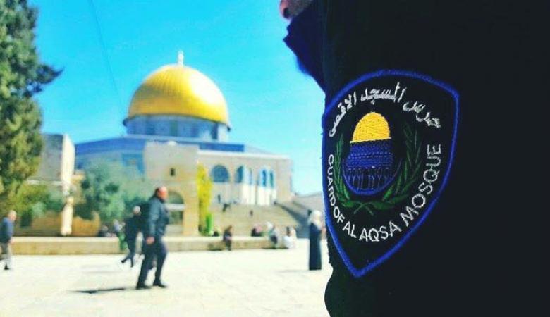 الاحتلال يصعد بحظر العديد من حراس الاقصى الدخول اليه