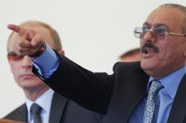 """صالح يدعو """"بوتين """"للتدخل  في اليمن"""