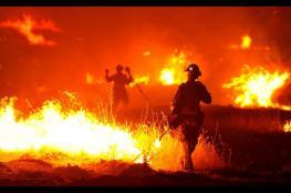 قناة عبرية : اسرائيل لا تستطيع التعامل مع الحرائق الكبيرة
