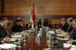 الحكومة المصرية تنفي اعتزامها إجراء تعديل وزاري