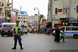 شرطة رام الله : اجراءات أمنية مشددة لضمان أمن المتسوقين