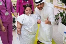 بسبب مرض نادر ....تأكل ولا تشبع! طفلة سعودية عمرها 5 سنوات ووزنها 85 كيلوغراماً