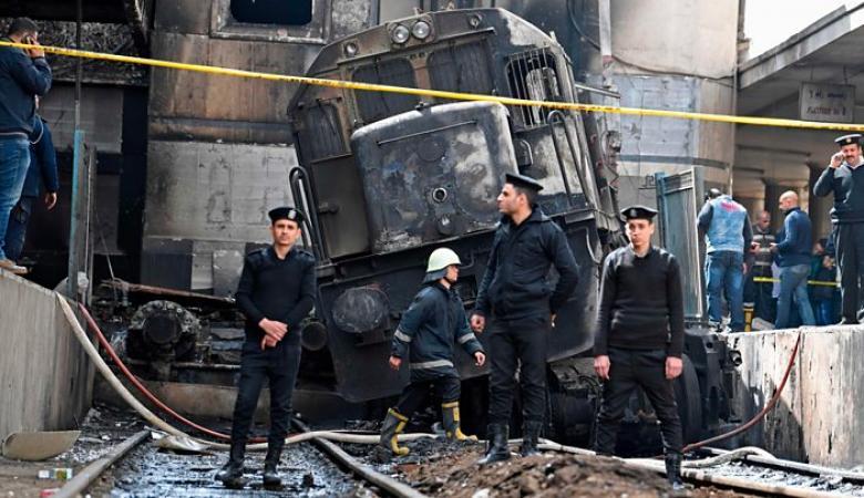 """مصر تمدد اعتقال المتهمين في حادثة """"قطار القاهرة """""""