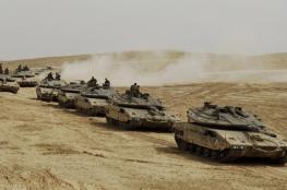 """قائد القوات البرية الاسرائيلية : """"جاهزون لهزيمة حماس والدخول الى غزة """""""
