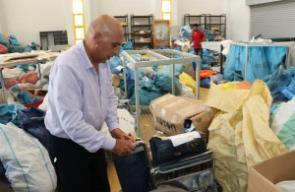 اسرائيل تسلم البريد الفلسطيني المحتجز منذ سنة 2010 ويقدر بعشرة اطنان